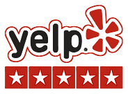 Yelp logo for The Junkluggers of Austin. We provide junk and furniture removal service in Austin.